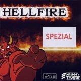 S&T Abwehrschläger mit Holz Zeus und Hellfire-Belag + Vorhand-Belag Ihrer Wahl einschl. Gratis-T-Shirt