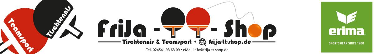 Startseite • Tischtennis und ERIMA-Teamsportbekleidung, FriJa TT-Shop - Ihr Spezialist